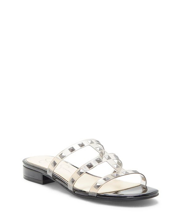 Jessica Simpson Caira 2 Flat Studded Sandals