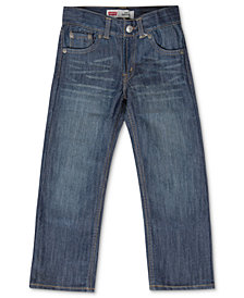 Levi's® Slim 514™ Straight Fit Jeans, Big Boys