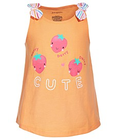 Baby Girls Berry Cute Knot Top, Created for Macy's