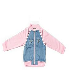 Little Girls Bomber Jacket