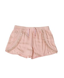 Toddler Girls Pull on Fringe Short