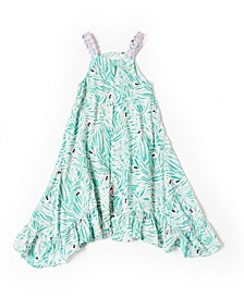 Toddler Girls Fern Print Dress