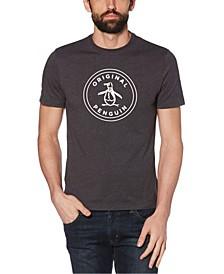 Men's Basic Stamp Logo Short Sleeve T-Shirt
