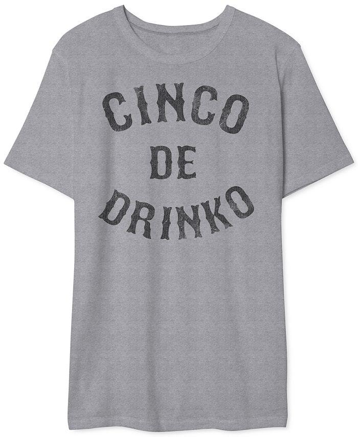 Hybrid - Men's Cinco de Drinko Graphic T-Shirt