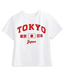 Juniors' Tokyo Varsity Graphic T-Shirt