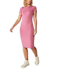 Essential Short Sleeve Bodycon Dress