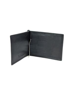 Genuine Leather Bill Fold Money Clip