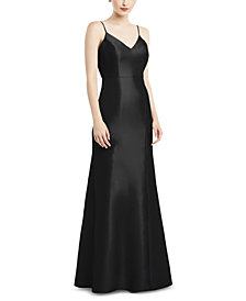 Alfred Sung Bow-Back Gown