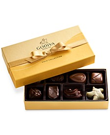 8-Piece Gold Gift Box