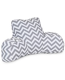 """Chevron Comfortable Soft Reading Pillow with Removable Cover 33"""" x 18"""""""