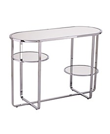 Constance Mirrored Console Table with Storage