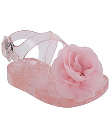 Baby Girls Glitter Jelly Sandal