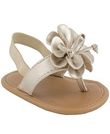 Baby Girls Thong Sandal with Flower