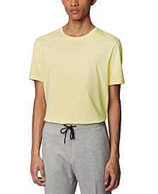 BOSS Men's Tiburt 55 Bright Yellow T-Shirt