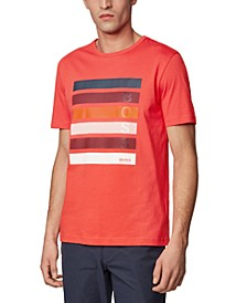 BOSS Men's Tee 2 Bright Red T-Shirt