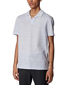 BOSS Men's Pye Light Pastel Grey Polo Shirt