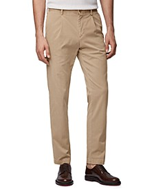 BOSS Men's Sleat-S Light Pastel Brown Pants