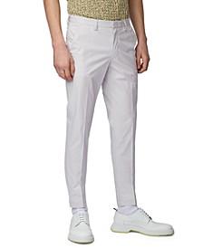 BOSS Men's Kaito1 Light Pastel Grey Pants