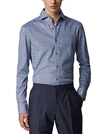 BOSS Men's Jason Navy Shirt