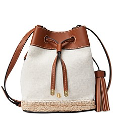 Mini Canvas Espadrille Debby Drawstring Bag