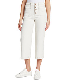 WILLIAM RAST Wide-Leg Crop Jeans