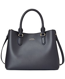 Leather Mini Marcy II Satchel