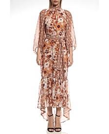 Boho Chic Print Long Dress