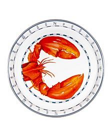 Lobster Enamelware Medium Tray