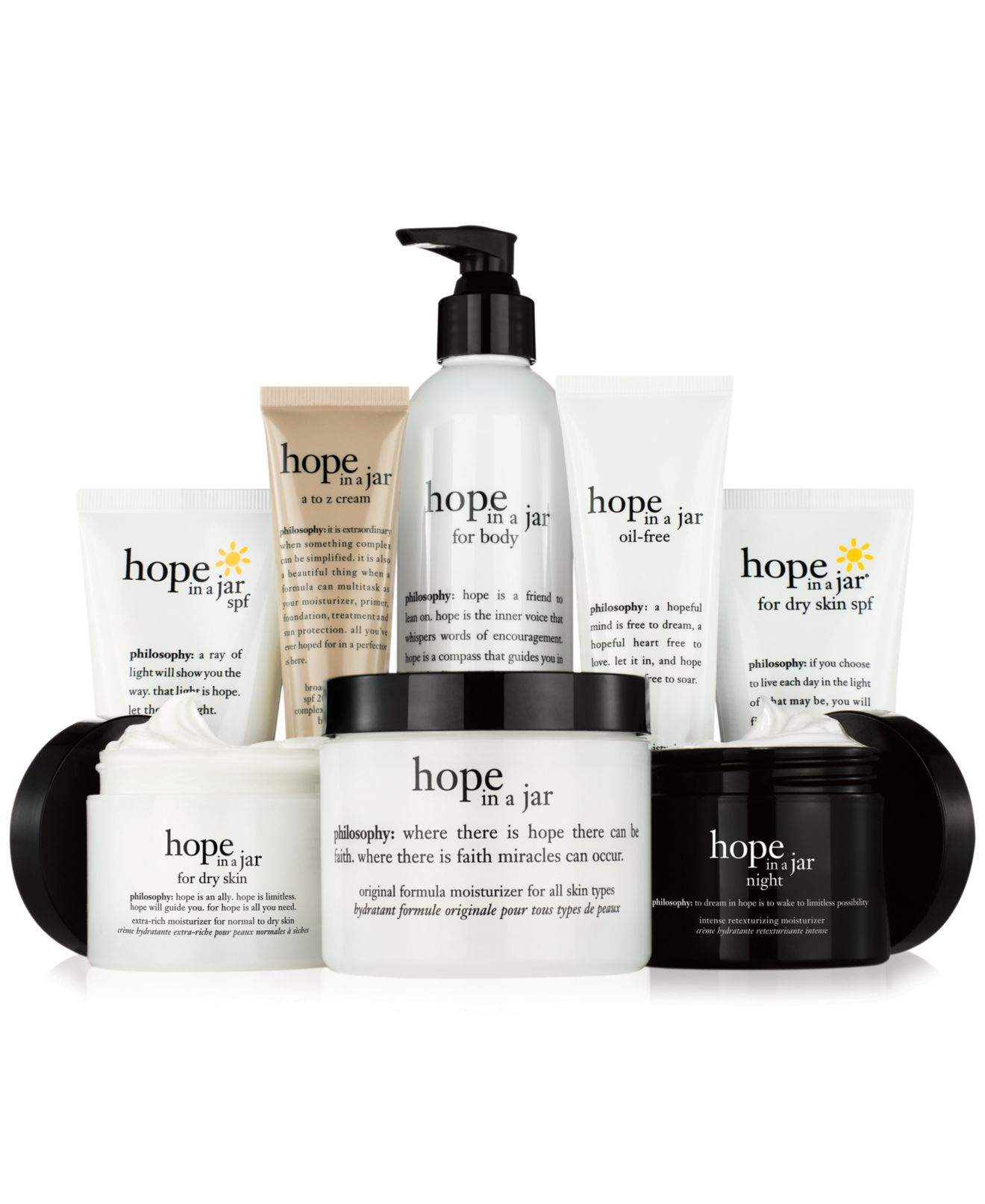 philosophy skin care makeup and fragrances macy s philosophy hope in a jar collection