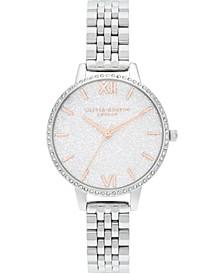 Women's Stainless Steel Bracelet Watch, 34mm