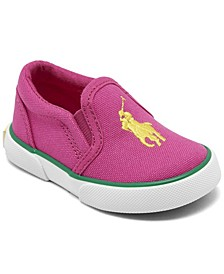 Toddler Girls Bal Harbour II Slip-On Casual Sneakers from Finish Line