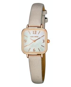 Women's Gray Polyurethane Strap Watch 24mm