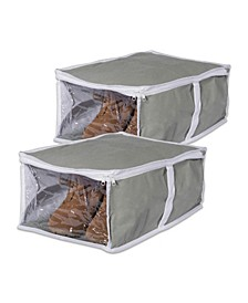 Under-The-Bed Shoes Soft Storage Set of 2