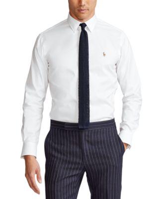 폴로 랄프로렌 셔츠 (클래식 핏) Polo Ralph Lauren Mens Estate Classic/Regular Fit Oxford Dress Shirt,White
