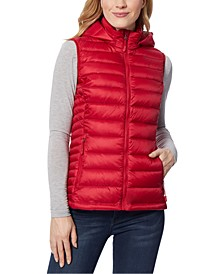 Packable Hooded Down Puffer Vest, Created for Macy's
