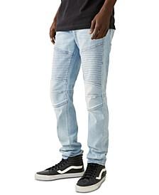Men's Rocco Skinny-Fit Stretch Moto Jeans