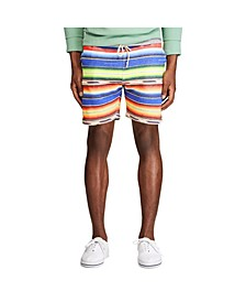 Men's Serape-Print Fleece Short
