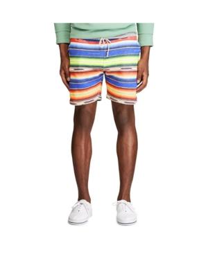 Polo Ralph Lauren Men's Serape-Print Fleece Short