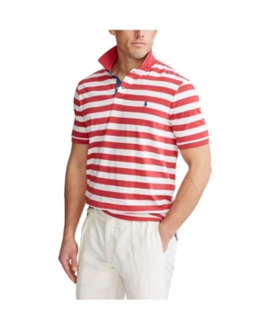 Polo Ralph Lauren Men's Classic Fit Striped Jersey Polo Shirt