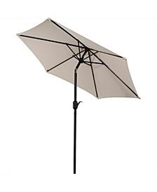 7.5' Outdoor Patio Umbrella with Tilt and Crank