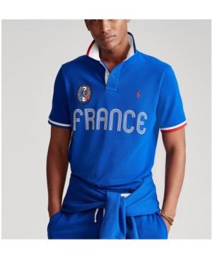 Polo Ralph Lauren Men's Classic Fit France Polo Shirt