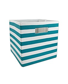 Polyester Cube Stripe Square