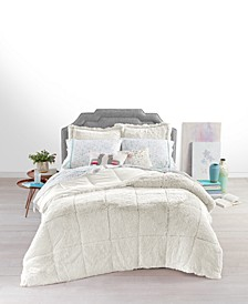 Shaggy Fur Bedding Collection, Created for Macy's