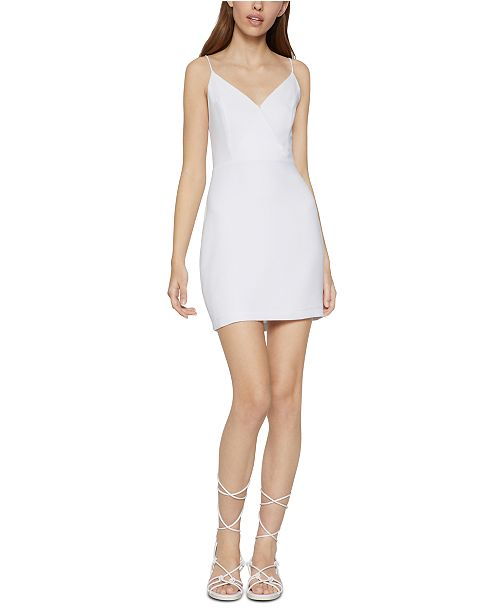 BCBGeneration Surplice Mini Dress