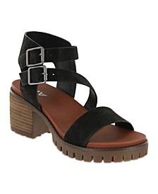 Women's Leyna Lug Sole Sandal