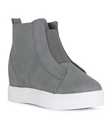 INSTINCT Slip On Wedge Sneaker
