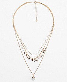 Contrasting Necklace