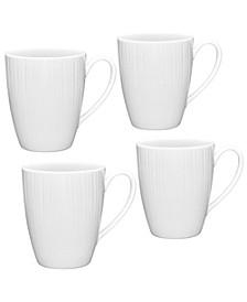 Conifere  Set/4 Mugs  12 OZ.