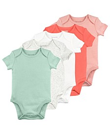 Baby Girl 5-Pack Bodysuits