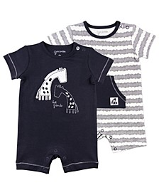Baby Boys & Girls 2-Pack Rompers